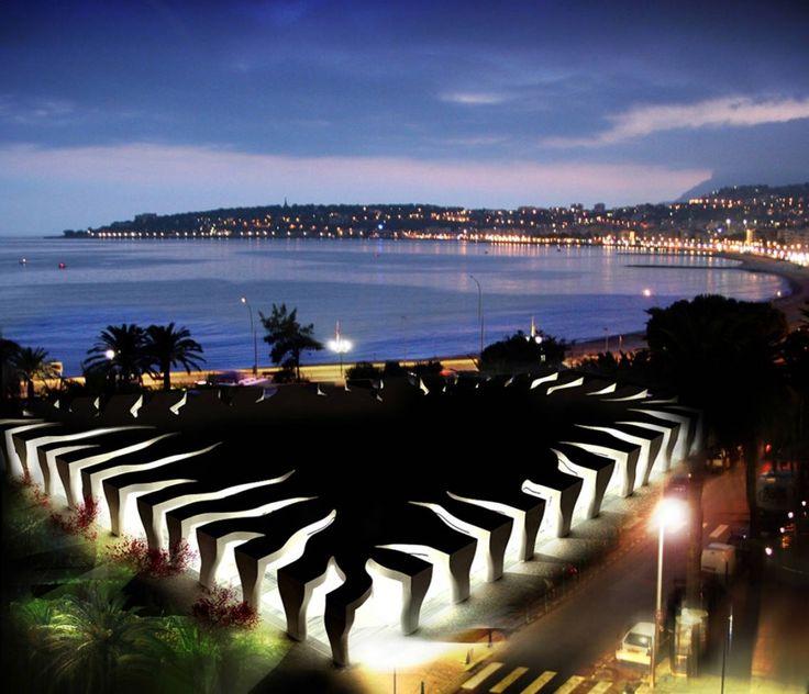 Jean Cocteau Museum by Rudy Ricciotti #visitcotedazur Cote d'Azur French Riviera artist Menton