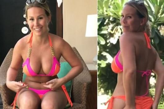 She previously said that her small waist was a 'gift from God'. And Kate Wright