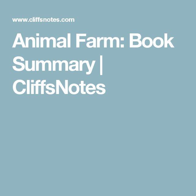 Animal Farm: Book Summary | CliffsNotes