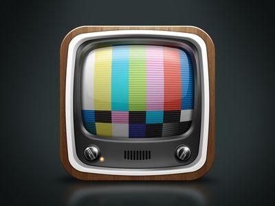 iOS Television Icon