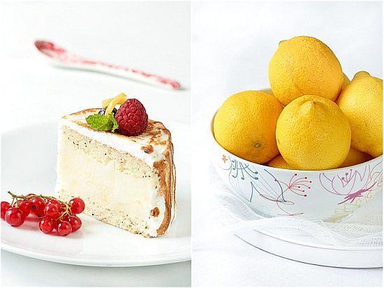Meyer lemon sorbet baked Alaska | Ice Cream | Pinterest