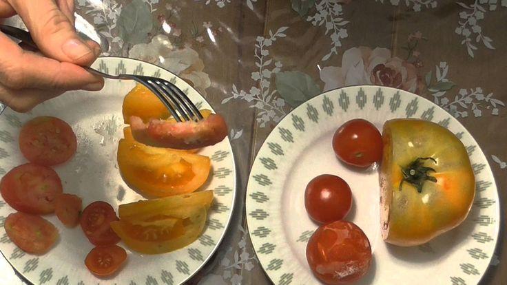 Помидоры, замороженные осенью в морозилке, хорошо использовать в первые и вторые блюда. Пробую и сравниваю замороженные помидоры и помидоры с зимней теплицы....