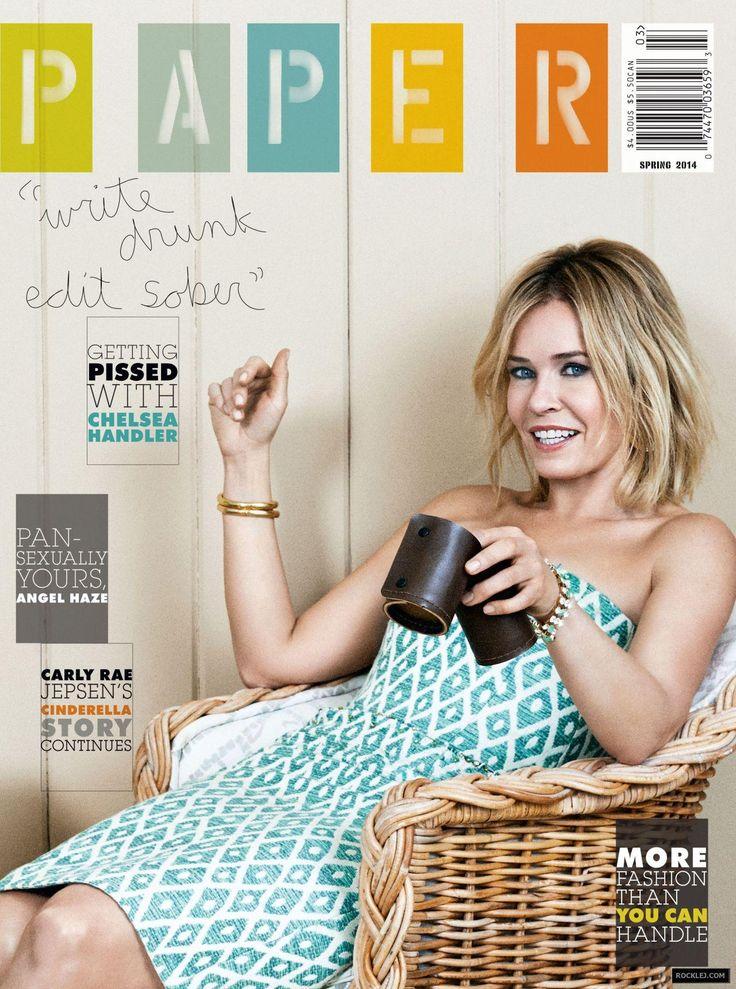 Chelsea Handler Gorgeous Photoshoot for Paper Magazine Spring 2014