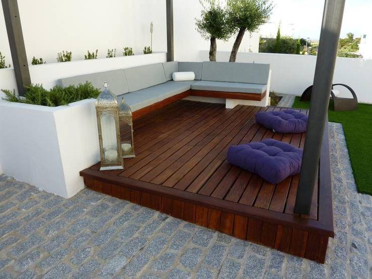 Terrazas de estilo translation missing: ar.style.terrazas.minimalista por Ángel Méndez, Arquitectura y Paisajismo