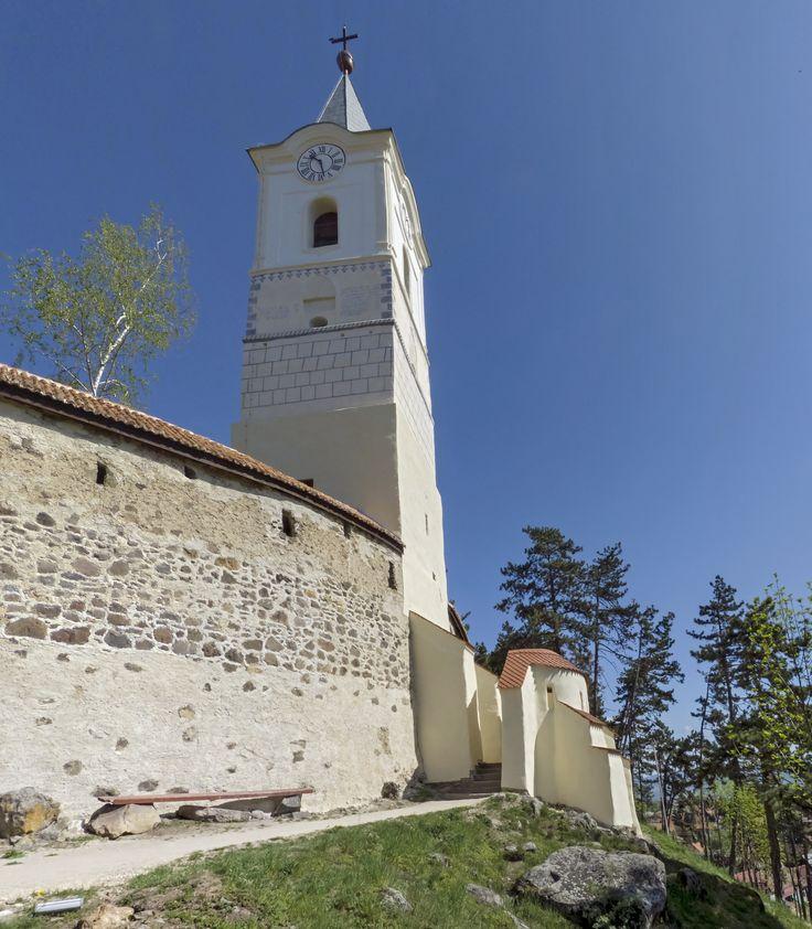 Turnul portii bisericii fortificate Carta