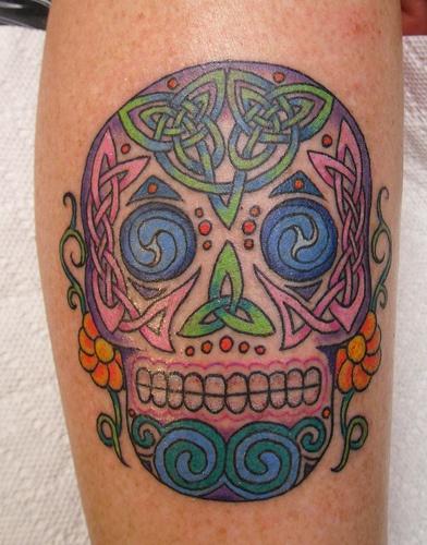 171 best images about celtic tattoos on pinterest for Celtic skull tattoo