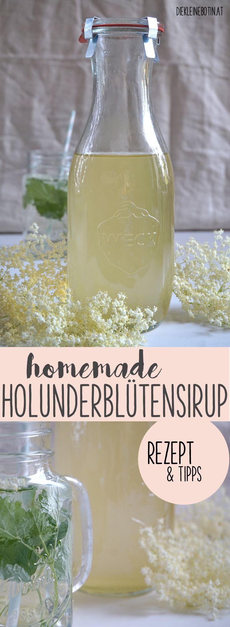 einfacher, selbstgemachter Sirup aus Holunderblüten! Sommerlich erfrischend als Getränk oder als Basis für Eis! Easy Rezept und Tipps zum Zubereiten. Perfekte Sommererfrischung für heisse Tage.