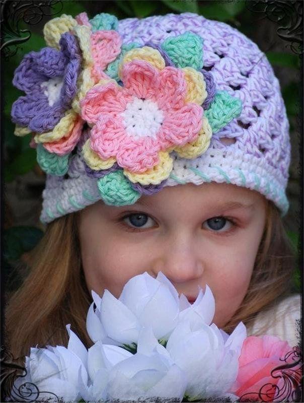 Gorros tejidos - Crochet