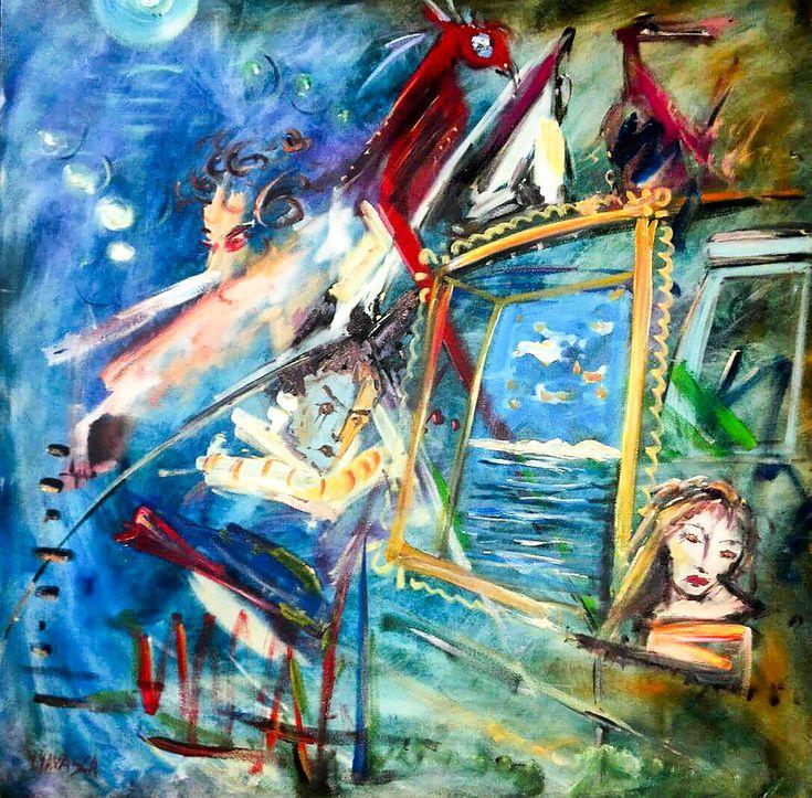 #Soyut #Sanat / #Abstractart by Yusuf Yavasca   #artgallery #sanatgalerisi #contemporaryart #artwork