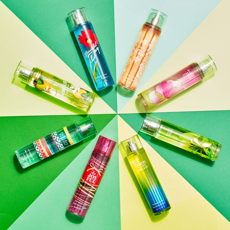 Our Fresh & Playful fragrances are ready for spring!