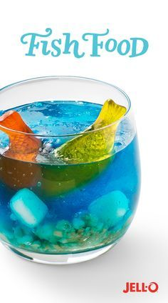 Public and private schools of fish agree that a certain level of fun should be part of the CORALiculum. So when your little fishies get home from a long day of school, have fun together and make Fish Food. Reel in this easy-to-make snack with Berry Blue Flavor JELL-O Gelatin, JET-PUFFED Miniature Marshmallows, vanilla wafers and fish-shaped candies. Repin to get the rest of your followers hooked!