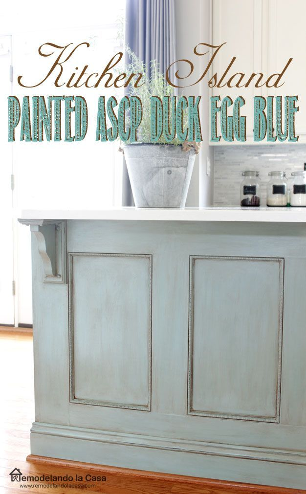 1000 ideas about blue kitchen island on pinterest how to update a builder grade kitchen island with trim and