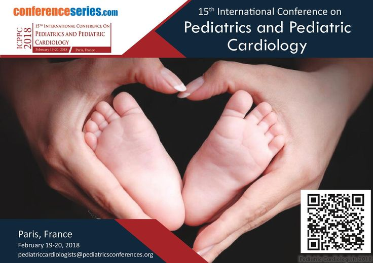15th International Conference On #Pediatrics & #Pediatric_Cardiology February 19-20, 2018 Paris, France