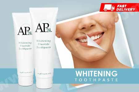 Mengembalikan kealamian putih gigi dengan pasta gigi AP24 dari Nu Skin hanya Rp 59.990 http://www.groupbeli.com/view.php?id=859