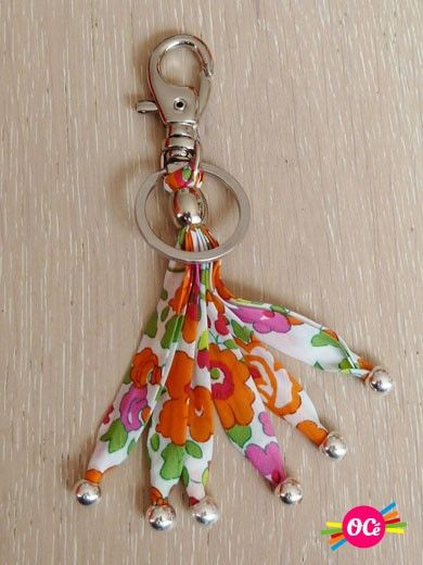 Porte-Clefs Liberty OCe Bright Liberty Keychain, so cute and easy to find in a purse...