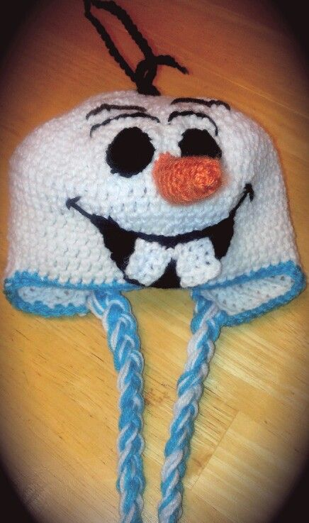 Free Crochet Patterns For Disney Hats : Olaf