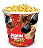 #7: Alvin and the Chipmunks: Road Chip Movie Theater Exclusive 130 oz Popcorn Tub