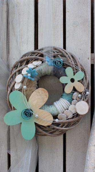 Türkranz,+Ostern,Frühling+Wandkranz,+Deko,+Filz.+von+florale-art+auf+DaWanda.com