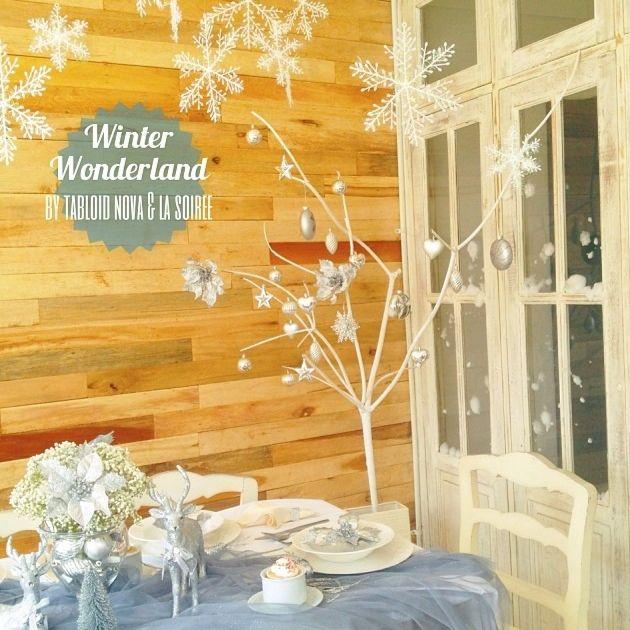 #TabloidNova #TableSetting #Christmas #decor #christmasidea #winter #winterwonderland #whitechristmas