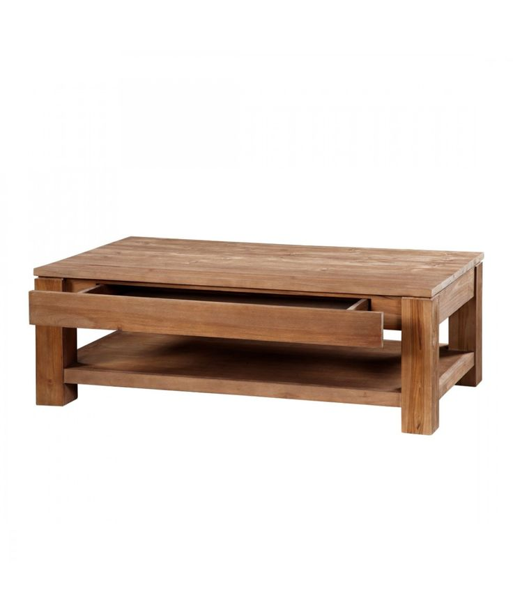 Classic - Teak Coffee Table With Drawer | Home Office Furniture - East