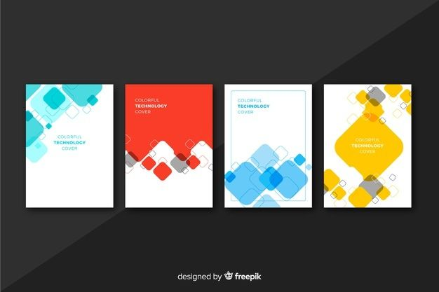 Download Colorful Geometric Lines Cover Collection For Free In 2020 Vector Free Geometric Lines Calendar Template