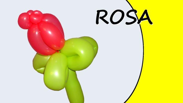 Video tutorial su come realizzare una rosa con i palloncini modellabili. #palloncini #PallonciniModellabili #balloon #BalloonTwisting #globoflexia #globos