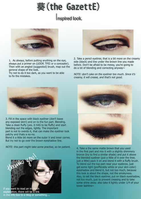 Ruki Inspired makeup