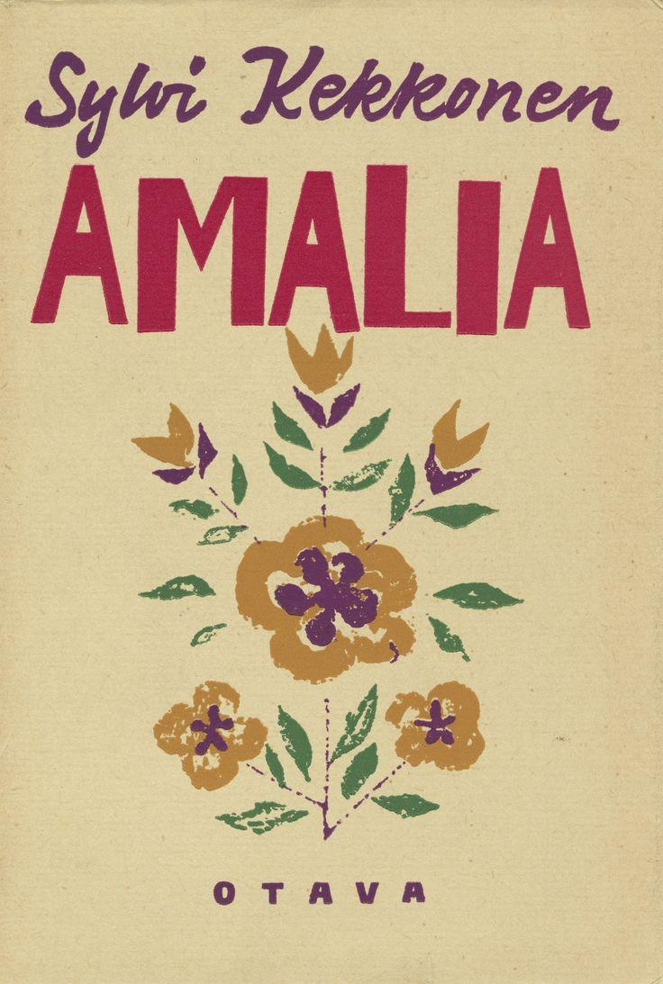 Title: Amalia | Author: Sylvi Kekkonen  | Designer: Kosti Antikainen