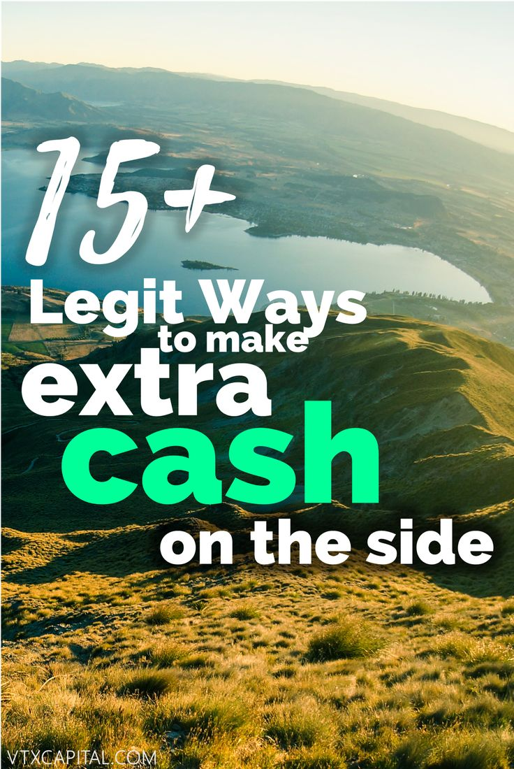 Now more than ever, people are turning to side hustles as a way to pay the bills and legitimately make extra cash on the side. Check out this list of 15+ ways to earn extra cash!