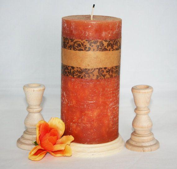 Unity Wooden Candlesticks Wedding Table by ToyingAround on Etsy