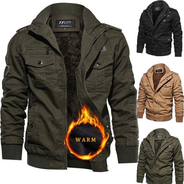 Mens Tactical Jacket,Men Boys Warm Hooded Coat Outwear Jacket Windbreaker,Jackets for Men