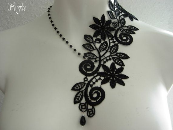 Victorian Necklace Gothic Jewelry Costume by stylbruchdesign, €21.90