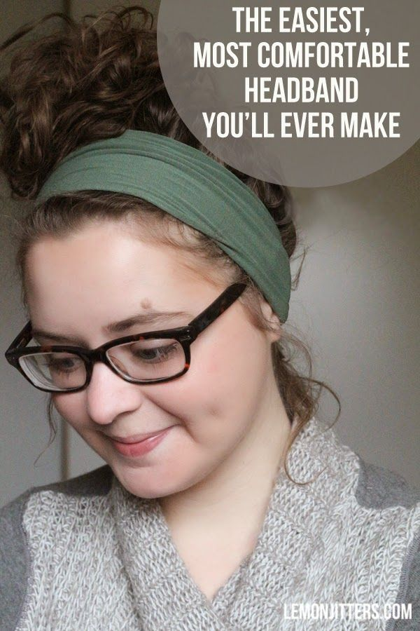 Lemon Jitters: The easiest, most comfortable headband you'll ever make!