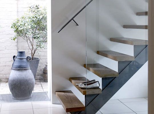 floatting stairs, en apparence