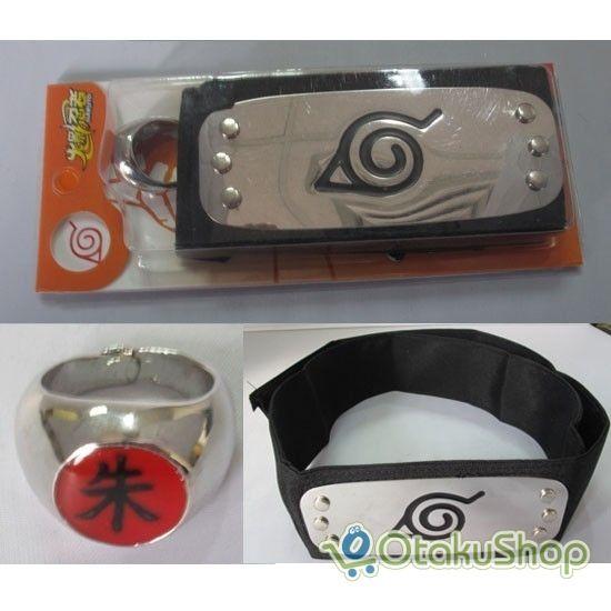 Konoha Headband and Itachi Ring