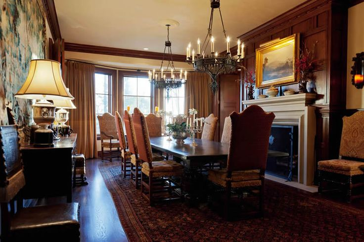 Dining room, Sagee Manor (Highlands, North Carolina).