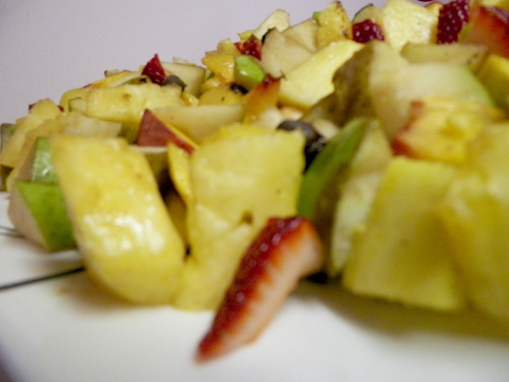 Grilled fruit salad close up | Sears Grilling Photography Course #Gri ...