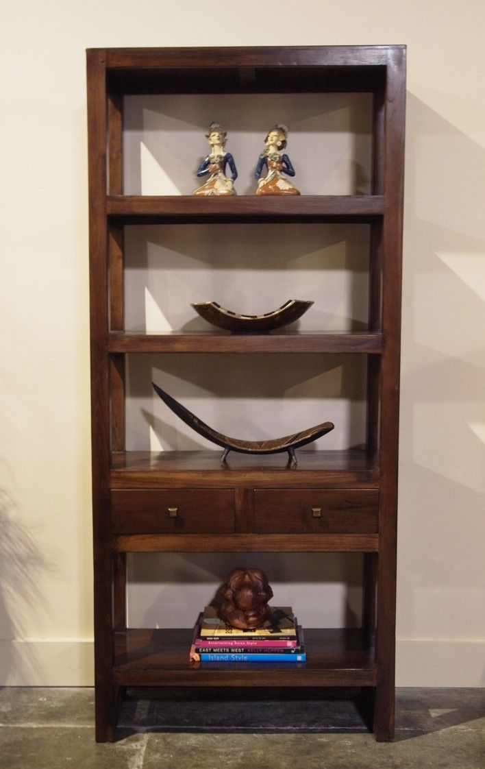 Contemporary Teak Display Cabinet | Gado Gado