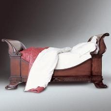 Wonderful sleigh bed. £5k a pop though.