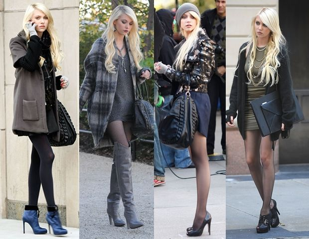 Love your look's in season 4, is the prime example of evil and good style Jenny Humphrey