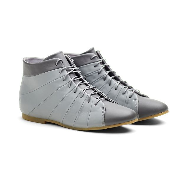 eu.Fab.com | High Strap Shoes Women's Grey