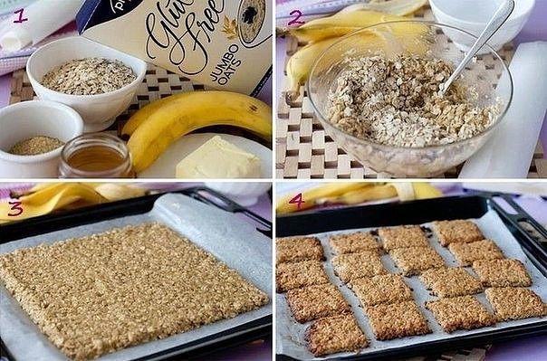 Банановый печенье