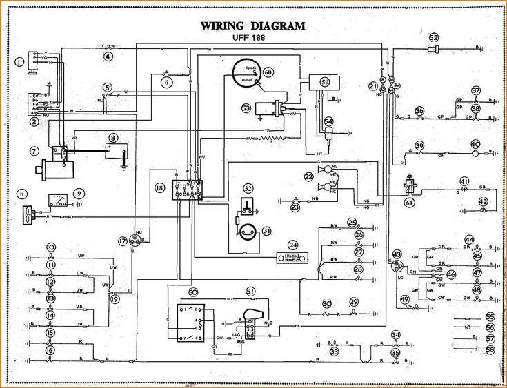 Race Car Wiring Diagram In 2020 Electrical Diagram Electrical Wiring Diagram Trailer Wiring Diagram