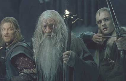 Gandalf Dies In Fellowship Of The Ring