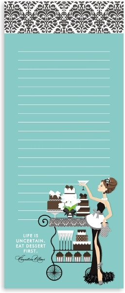 Note Pads - http://www.accenttheparty.com/inc/sdetail/magnetic-notepads-and-list-pads/2634/98252#