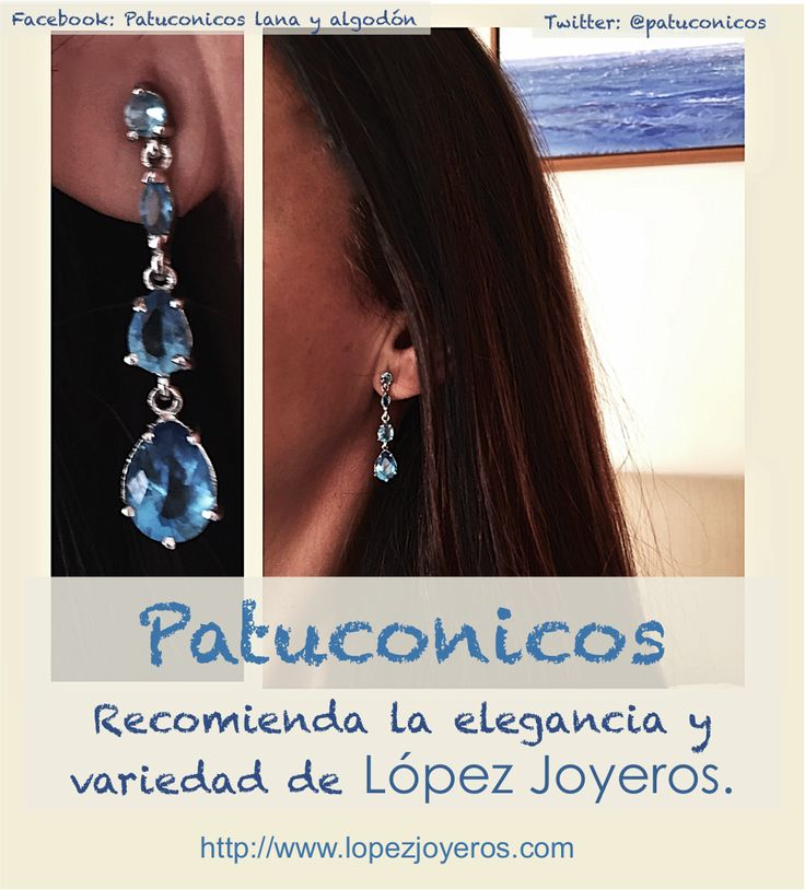 Patuconicos recomienda:  La elegancia y variedad de lopez Joyeros. Estilos diversos y precios para todos: Comuniones, bodas anillo compromiso, detalles...  Os animamos a visitar su web http://www.lopezjoyeros.com/