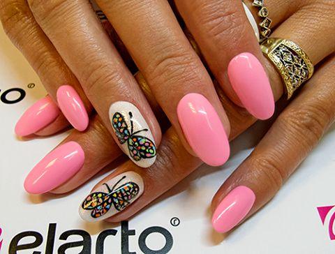 Created by: -Lacogel 400: https://elarto.pl/lakier-hybrydowy-kolorowy-z-brokatem/7107-elarto-lakier-hybrydowy-lakierozel-kolorowy-lacogel-hybrid-nail-color-nr-400-snieznobialy-15ml.html -GelPolish 725: https://elarto.pl/zel-hybrydowy-kolorowy/14978-elarto-zel-hybrydowy-gelpolish-nr-725-liliowy-pastel.html
