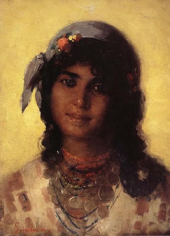 Nicolae Grigorescu ''Gipsy girl''