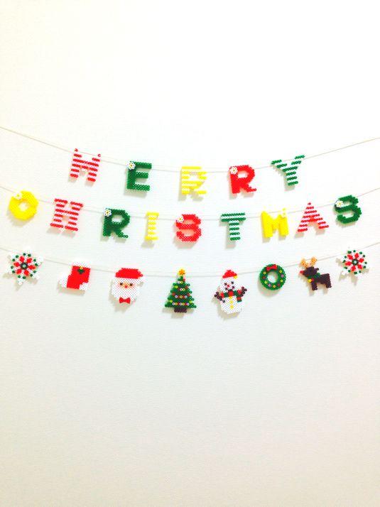 もうそろそろクリスマスの時期。今年はアイロンビーズを使ってクリスマスオーナメントを作ってみませんか?世界に1つだけのとってもかわいいアイテムを手に入れちゃおう!
