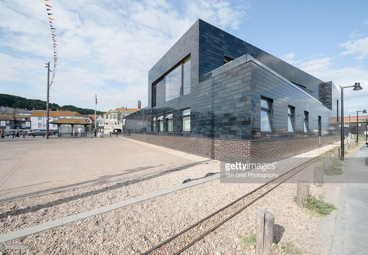 External image of the Jerwood Gallery, Hastings, East Sussex, United Kingdom. Architect: HAT Projects.